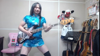 getlinkyoutube.com-「おそ松さん」OPのベースを弾いてまう