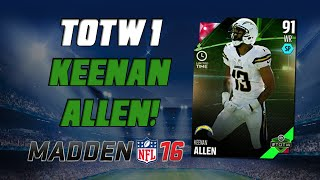 getlinkyoutube.com-TOTW Keenan Allen & Aaron Donald!   Madden 16 Ultimate Team - Team of the Week 1 Pack Opening