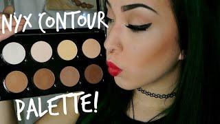 getlinkyoutube.com-NYX Contour Palette Review | Swatches & Demo