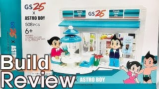 getlinkyoutube.com-[Live] 아톰 GS25 편의점 매장 레고 호환 블럭 조립 과정 리뷰 Astro Boy brick convenience store block