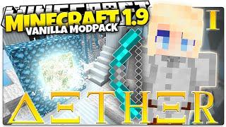 getlinkyoutube.com-Minecraft 1.9 | AETHER | A Whole New Dimension... (Minecraft Custom Command Mod Pack)