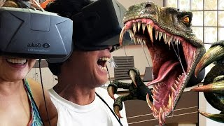 "getlinkyoutube.com-My Parents Play ""Don't Let Go"" on the Oculus Rift! 