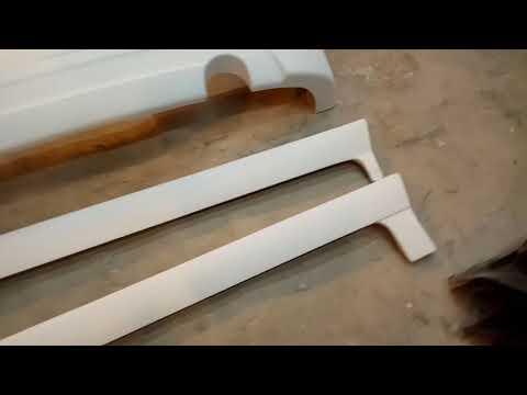 Видеообзор - Первые копии обвеса KENSTYLE на Honda fit GD (USA body)...