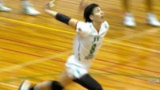 getlinkyoutube.com-バレーボール 越川優 ジャンプサーブ ハイキュー 排球 | Volleyball Jump Serve  Yu Koshikawa