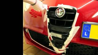 getlinkyoutube.com-Plasti Dip on Alfa Romeo MiTo Front Grill GTA Style and Rims