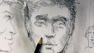 getlinkyoutube.com-ganz einfach zeichnen lernen 1 DAS GESICHT