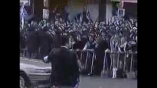 X JAPAN hide 葬儀 当時のニュース映像