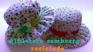 getlinkyoutube.com-Alfiletero sombrero reciclado