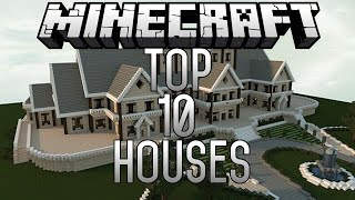 getlinkyoutube.com-Top 10 EPIC Minecraft Houses (Minecraft 1.8) November 2014