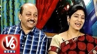 getlinkyoutube.com-Veteran Hero Pradeep And  Anchor Saraswati In Life Mates || V6 News