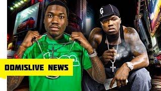 getlinkyoutube.com-Meek Mill Diss 50 Cent & 50 Cent Says Get Nicki Minaj Pregnant Your Career Is Over Meek Mill