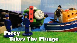 "getlinkyoutube.com-トーマス プラレール ガチャガチャ うみにおちたパーシー Tomy Plarail Thomas ""Percy takes the Plunge."""