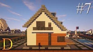 MINECRAFT PORADNIK - Jak zbudować: modern house z basenem [#7]