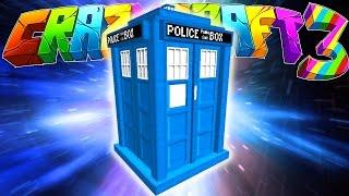 getlinkyoutube.com-Minecraft Crazy Craft 3: Dr Who Tardis! (Dr Who MOD!) #51