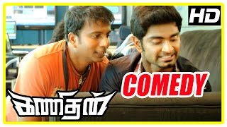 Kanithan Tamil movie | Comedy Scenes | Atharva | Catherine | Bhagyaraj | Manobala | Karunakaran