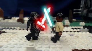 getlinkyoutube.com-Lego Star Wars Episode VII:  Finn vs. Kylo Ren