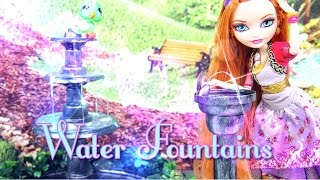 getlinkyoutube.com-DIY - How to Make: Doll Water Fountains - Handmade - Doll - Crafts