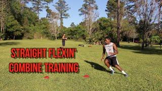getlinkyoutube.com-Straight Flexin' Pre Combine Training