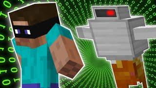 Minecraft: RUNNING FROM ROBOTS - THE HEIST - Custom Map [2]