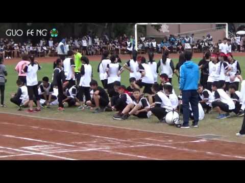 花蓮縣立國風國中105年班際體育競賽大隊接力賽七年級第3組