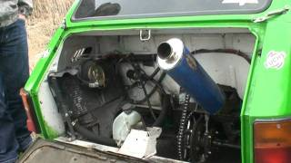 getlinkyoutube.com-Powtórka z Azotów - Fiat 126p - silnik CBR