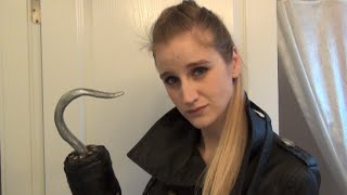 How to DIY Killian Captain Hook's Hook - Once Upon A Time Tutorial