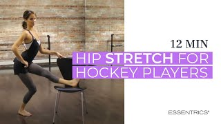 getlinkyoutube.com-Essentrics Hip Stretch for Hockey
