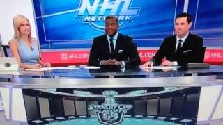 getlinkyoutube.com-Kathryn Tappen on NHL Tonight following Rangers vs. Canadiens in Eastern Conference Final