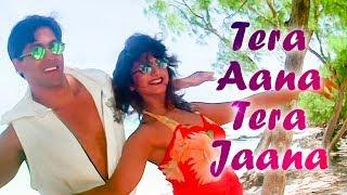 getlinkyoutube.com-Tera Aana Tera Jaana - Salman Khan - Rambha -  Judwaa Songs - Kumar Sanu - Kavita Krishnamurthy