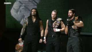 NXT The Shield and Adrian Neville segment