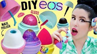 getlinkyoutube.com-DIY EOS BEAUTY | EOS Nail Polish | EOS Beauty Blender | EOS Lip Gloss | EOS Galaxy Eyeshadow, Liner!