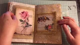 getlinkyoutube.com-Vintage journal unforgettable moments #Vintagejournals #Junkjournaljunkies