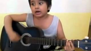 getlinkyoutube.com-Firman - Kehilangan [Cover Gitar Akustik Anak Kecil] KEREN!!!