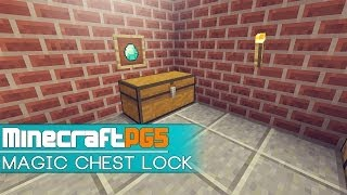 getlinkyoutube.com-Magic Chest Lock - Anti Theft Protection - Minecraft