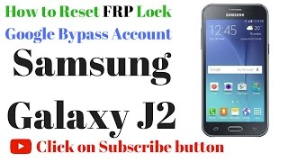 getlinkyoutube.com-Samsung Galaxy J2 FRP Lock remove done in Miracle box by GsmHelpFul