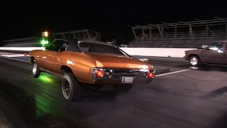 GRUDGE RACING and Testing - Tulsa Midnight Drags