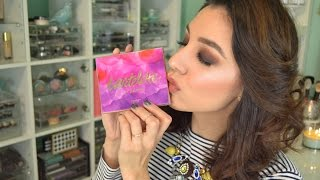getlinkyoutube.com-Tarte Tartelette in Bloom | Review + Swatches!
