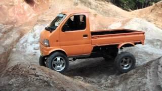 軽トラ カスタム クロカン走行 Japanese Mini Truck  Off road
