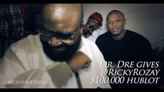 Dr. Dre offre une montre Hublot de 100 000$ à Rick Ross
