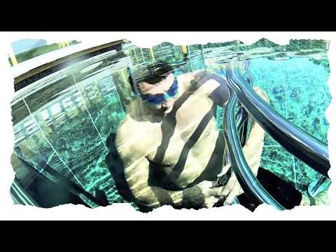 WLADIMIR KLITSCHKO - UNDERWATER TRAINING SESSION