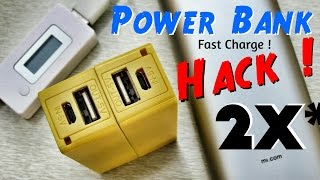 getlinkyoutube.com-How To Make Best Cell Phone Charger Passthrough Power Bank From Old Laptop Battery