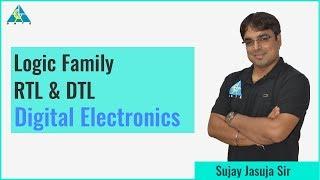 Logic Family: RTL & DTL   Digital Electronics