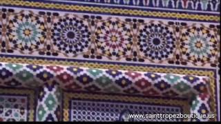 getlinkyoutube.com-Zellige tile: Glazed Moroccan ceramic tiles - Zillij - moorish tile - Islamic tiles - Moroccan tile