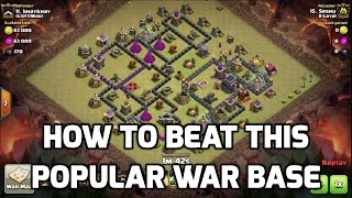 getlinkyoutube.com-Clash of Clans: BEAT THIS POPULAR WAR BASE | MisterClash