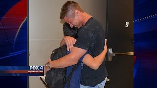getlinkyoutube.com-Boy reunited with dad after 8 years