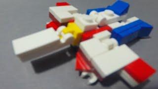 getlinkyoutube.com-Lego TransFormers #15: G1 StarScream