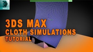 3ds Max Tutorial - Cloth Simulation MassFX