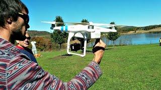 getlinkyoutube.com-DJI Phantom 2 Vision Aerial Quadcopter UAV Drone Flight