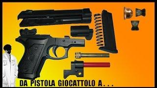getlinkyoutube.com-Da pistola giocattolo a pistola spara piombini Cal  4,5
