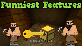 getlinkyoutube.com-Minecraft - FUNNIEST Announced Features (Joke Features)
